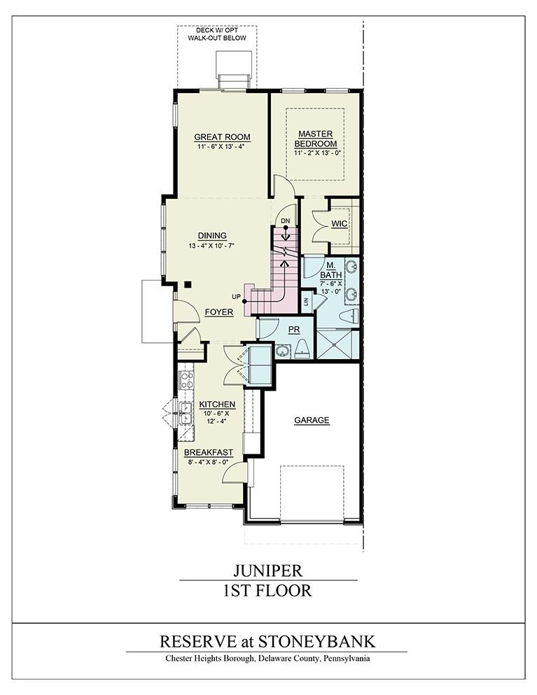 Juniper model the reserve at stoneybank for Juniper floor plan